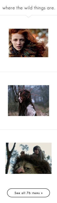 """""""where the wild things are."""" by scatteredtracks ❤ liked on Polyvore featuring models, backgrounds, cintia dicker, cintia, foto, people, pictures, photos, girls and black & white"""