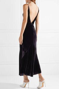 Irregular Ted Baker Cornela Velvet Halter Dress 1 /& 2