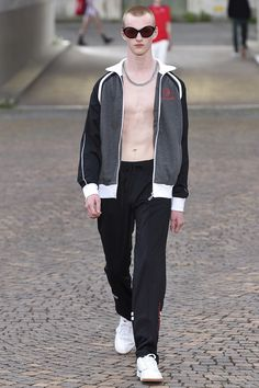 Gosha Rubchinskiy Spring 2017 Collection Fashion Show - Pitti Uomo guest designer - Milan Men Fashionweek - Bxy Frey