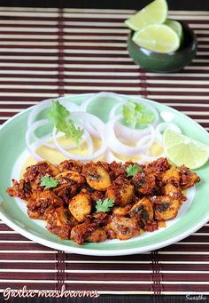 Garlic mushroom is one of the most delicious, flavorful and spicy favorite at home. It goes great with rice, bread and even with roti
