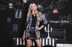 Martina Stella for Giorgia & Johns