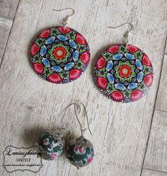 Leniuszkowo: Życzę, zapraszam i dziękuję :) Terracotta Jewellery, Crochet Earrings, Drop Earrings, Jewelry, Jewlery, Jewerly, Schmuck, Drop Earring, Jewels