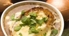 French Onion Soup Used To Take Forever To Make, But Not Anymore…i will leave out the flour to,make it gluten free