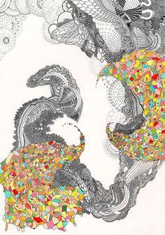 Angelika Arendt - Intricate Worlds   Patternbank