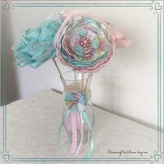 A personal favorite from my Etsy shop https://www.etsy.com/listing/231814002/pink-and-teal-nursery-decor-romantic