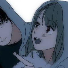 Cute Anime Profile Pictures, Cartoon Profile Pics, Matching Profile Pictures, Dark Anime Girl, Anime Girl Cute, Anime Art Girl, Anime Couples Drawings, Couple Drawings, Yandere Anime