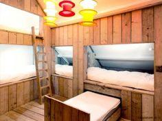 Slaapzolder bedstee |Vakantiehuis voor 8 tot 10 personen Knokke | te huur bij ZaligAanZee