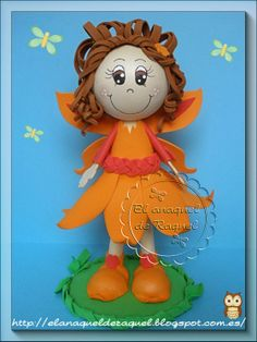 fofucha orange fairy