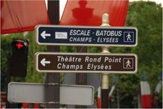 Retourner aux Champs Elysées