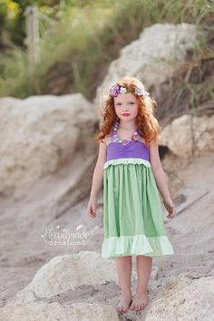 Ariel Everyday Princess Dress Character by HeartmadeCreations