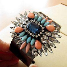 Shourouk Inspired Bracelet Crystal Bracelet by costumejewelrystore, $10.80