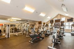 Get your sweat on in our #fitness center! #ArriveFortLee #IHaveArrived #Amenities #FortLeeNJ #FortLeeApartments Fort Lee, Apartment Communities, Luxury Apartments, Baby Strollers, Fitness, Home, Baby Prams, Ad Home, Prams