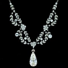 belle epoque diamond necklace