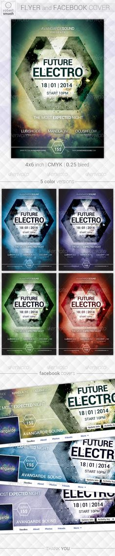 Future Electro Flyer — Photoshop PSD #a6 #electronic • Available here → https://graphicriver.net/item/future-electro-flyer/6468159?ref=pxcr