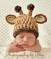 Ravelry: Unique Giraffe Baby Hat pattern by Cherry Creek Crochet