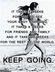 As long as you don't quit, you aren't failing. Keep going and you'll see results! #health