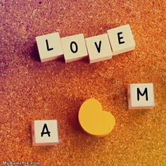 Write name on Love Blocks picture in beautiful style. Best app to write names on beautiful collection of Alphabets pix.