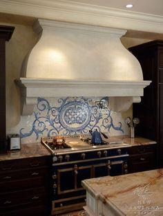 ARTICLE: How A Bold, Stylish Kitchen Backsplash Can Make A Stunning Artistic Statement