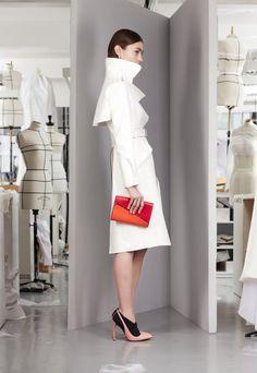 Деловой и повседневный стиль в коллекции Crisitian Dior Pre-Fall 2013