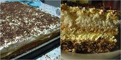Cele mai grozave retete de prajituri de Craciun din Banat, asa cum le Fine Dining, Tiramisu, Ale, Caramel, Good Food, Food And Drink, Gluten, Cooking, Ethnic Recipes