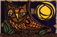Betsy Thompson - Hoot - mixed media