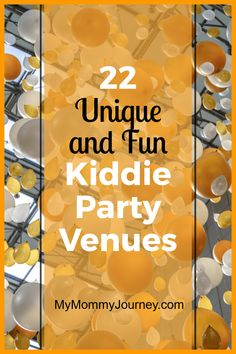 Want to have a different birthday party for your child? Try any one of these 22 unique and fun kiddie party venues. Your child will surely have the best birthday party ever!