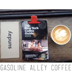 NYC - Gasoline Alley Coffee, 331 Lafayette St, sunday morning coffee