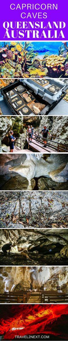 Capricorn Caves in Queensland Australia are mysterious and beautiful #australiatravel