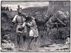 March 25th 1199. King Richard I of England (the Lion Heart) whilst besieging the obscure castle of Chalos Chabrul in France  is shot in the shoulder by a crossbowman. The surgeon makes a mess of removing the bolt and the wound becomes in fected. He dies some days later. He forgives the archer, who was brought before him. The young lad's father had been killed by Richard. The boy is given 100 shillings and freed.