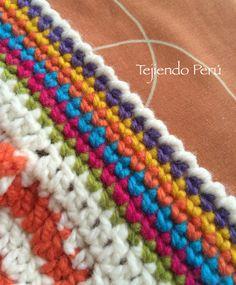 Crochet: borde con punto cangrejo!