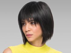A fun, edgy bob haircut is fresh approach to a classic short haircut. Try a bob with layers haircut.