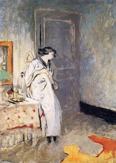 The Athenaeum - The Blue Room - The Kimono (Edouard Vuillard - )