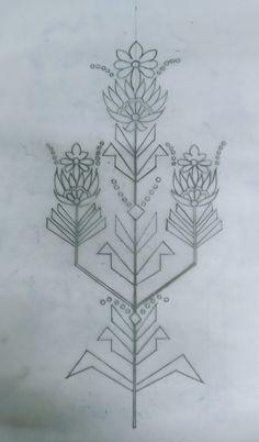 Border Embroidery Designs, Embroidery Motifs, Outline Designs, Dress Sewing Patterns, D1, Diy Flowers, Kurti, Designer Dresses, Applique