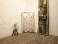 Iron Gate b402【H119.5×W80】 アンティークのアイアンフェンス ゲート インテリア 雑貨 家具 Antique ¥29800yen 〆06月13日