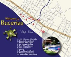 Map of Bucerias Mexico