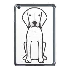 German Shorthaired Pointer Dog Cartoon iPad Mini Case