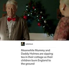 The Holmes parents