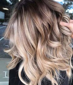 Best hair ideas bob balayage highlights Ideas - All For Hair Color Trending Brown Ombre Hair, Ombre Hair Color, Hair Color Balayage, Blonde Balayage, Purple Hair, Short Balayage, Beige Hair, Spring Hairstyles, Cool Hairstyles