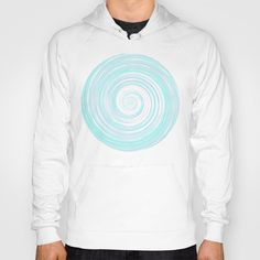 Re-Created Spin Painting No. 5 Hoody by #Robert #Lee - $38.00 #art #spin #painting #drawing #design #circle
