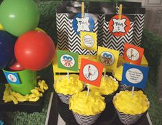 Dr Seuss party Design & set up by The Simple Party Printables from Printabelle
