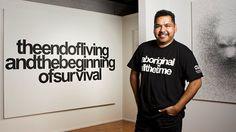 """Art has to ask questions"" Vernon Ah Kee, Australian artist"