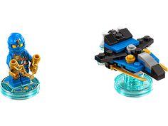 Build LEGO� NINJAGO� Jay and join him on a LEGO DIMENSIONS� adventure!