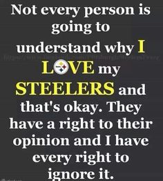 06e3af009 Love my Pittsburgh Steelers. Davinna Pimentel