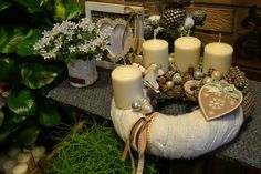 Home Studio, Advent, Wreaths, Table Decorations, Christmas, Type 3, Furniture, Facebook, Home Decor