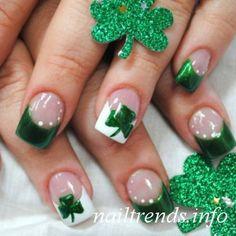 Hot Green Nail Designs 2012