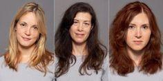 Hair makeover women
