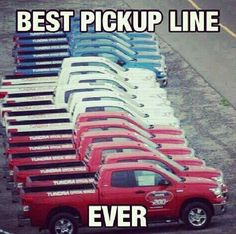 "Yeah. Pick the Japanese ""pickups"" to make a USA flag from... Makes sense."