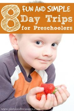 Fun and simple day trips for preschoolers and toddlers that will bring a blast of fun memories to their childhood. Who said the big kids get all the fun?!