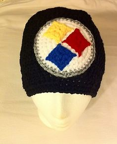 Pittsburgh Steelers Beanie Hat Crochet Handmade