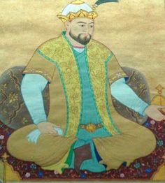 Ulug Beg di Soltaniyeh, Zanjan, Iran (1394-1449) astronomo, matematico, direttore dell'Osservatorio astronomico Samarcanda Ap World History, Islamic World, Cultural Center, Central Asia, World Heritage Sites, Famous People, The Past, Old Things, 1